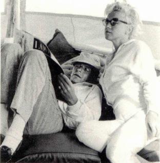 Marilyn et Frank Sinatra