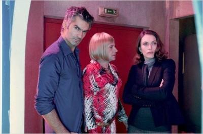 Hard - François Vincentelli (Roy Lapoutre), Eric Herson-Macarel (Andréa) et Natacha Lindinger
