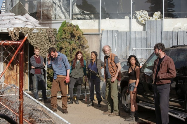 Z nation : Michael Welch, Tom Everett Scott, Anastasia Baranova, Kellita Smith, Russell Hodgkinson , Pisay Pao et Keith Allan
