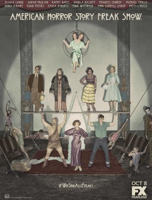 American Horror Story - Saison 4 - Freak Show - Affiche