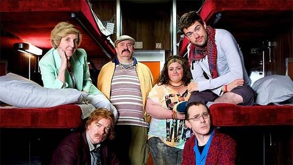 Inside n°9 - 'La couchette' - Julie Hesmondhalgh, Steve Pemberton, Mark Benton, Jessica Gunning, Reece Shearsmith et Jack Whitehall