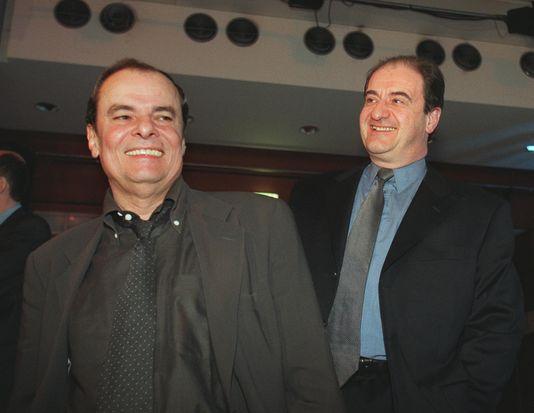 Alain de Greef et Pierre Lescure