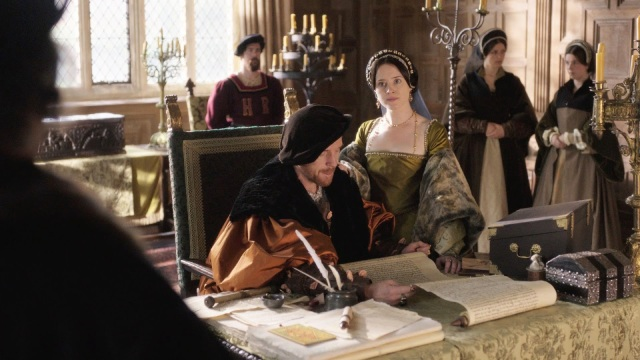 Wolf Hall - Diaman Lewis et Anne Foy