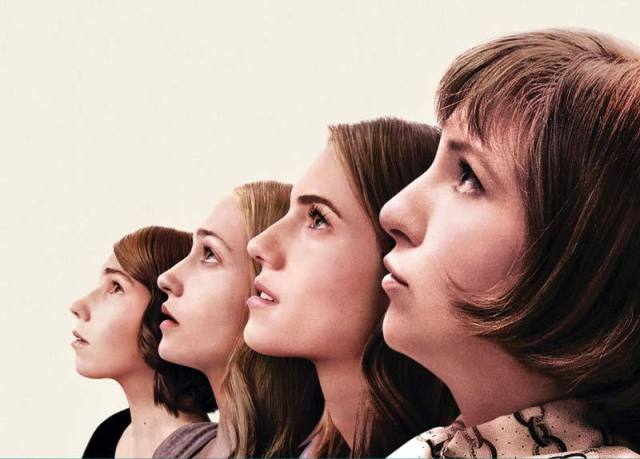 Girls - Zosiat Mamet, Jemima Kirke, Allison Williams et Lena Dunham