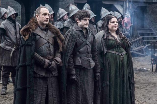 Game of thrones -  Michael McElhatton, Iwan Rheon et Elisabeth Webster