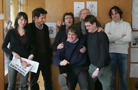 Charlie Hebdo - Catherine Meurisse, Jul, Tignous, Cabu, Honoré, Charb et Riss