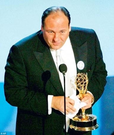 Emmys award - James Gandolfini