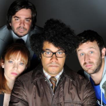The IT crowd - Katherine Parkinson, Matt Berry, Richard Ayoade et Chris O'Dowd
