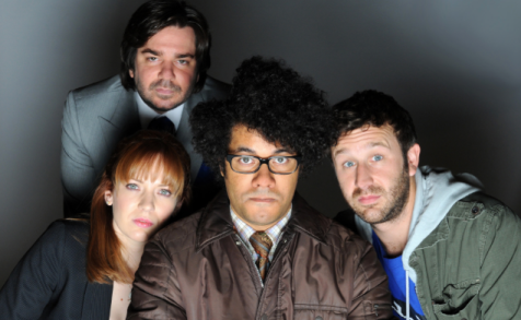 The IT crowd - Katherine Parkinson, Matt Berry, Richard Ayoade et Chris O'Dowd