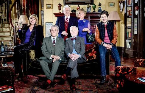 Frances de la Tour, Ian McKellen, Philip Voss, Derek Jacobi, Marcia Warren et Iwan Rheon