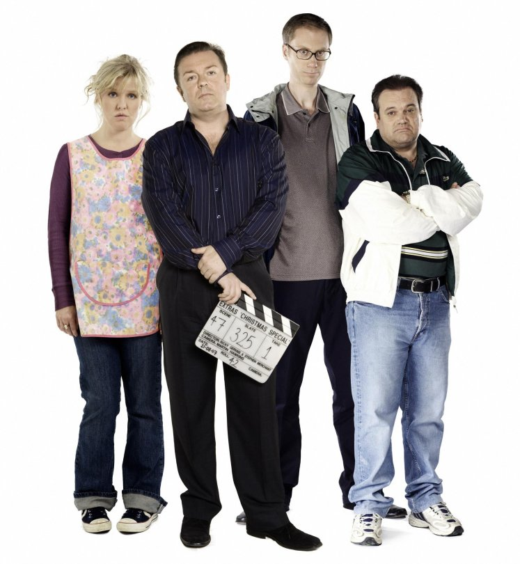 Extras : Ashley Jensen; Ricky Gervais, Stephen Merchant et Shaun Williamson