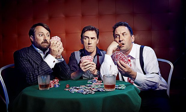 Would I lie to you - Rob Brydon, Lee Mack et David Mitchell