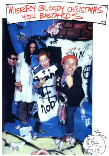 The Young Ones - Christopher Ryan, Nigel Planer, Adrian Edmonson et Rik Mayall