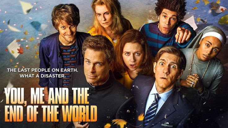 Mathew Baynton, Rob Lowe, Megan Mullally, Jenna Fischer, Joel Fry, Mathew Baynton et Gaia Scodellaro - You, Me and the Apocalypse