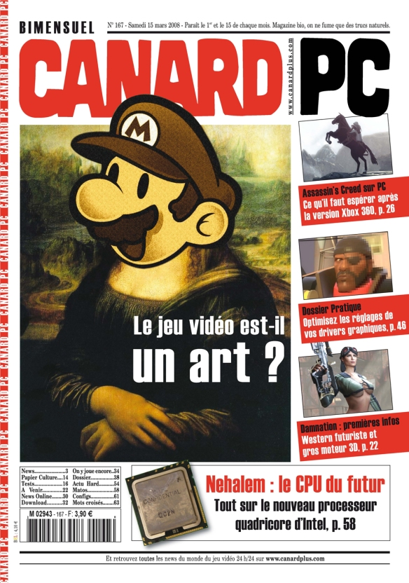 Canard Pc Une 2008