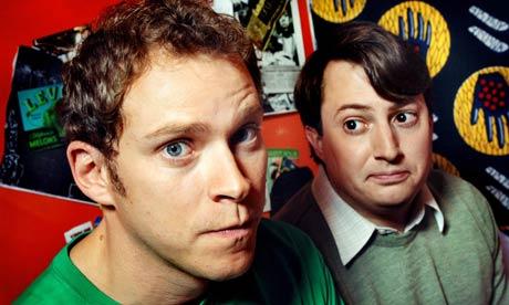 Peep show - Robert Webb et David Mitchell - Photo Linda Nylind