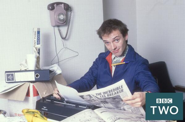 Rik Mayall est Kevin Turvey - BBC