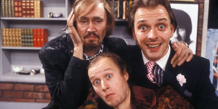 Filthy, Rich and Catflap : Nigel Planer, Adrian Edmondson et Rik Mayall