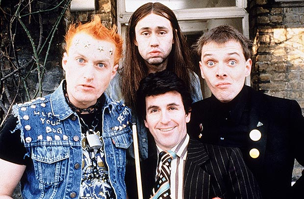 The Young Ones - Adrian Edmondson, Nigel Planer, Christopher Ryan et Rik Mayall