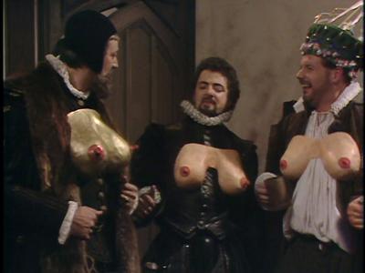 Blackadder : Stephen Fry et Rowan Atkinson