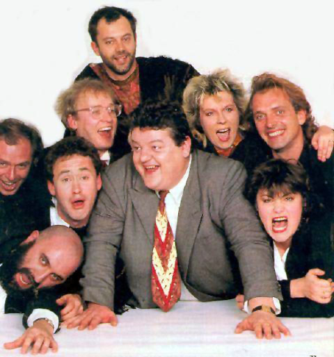 The Comic Strip Presents : Peter Richardson, Alexei Sayle, Nigel Planer, Adrian Edmondson, Keith Allen, Robbie Coltrane, Jennifer Saunders, Rik Mayall et Dawn French