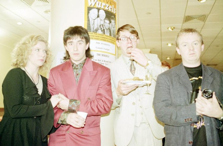 Coogan's run Debs (Theresa Banham). Mike Crystal (Steve Coogan), Clement (Graham Fellows), Curtains (Sean McKenzie)