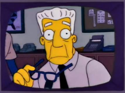 Kent Brockman (Les Simpson - Matt Groening)