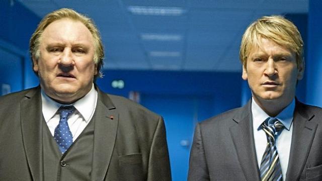 Marseille - Robert Taro (Gérard Depardieu) et Lucas Barrès (Benoît Magimel)