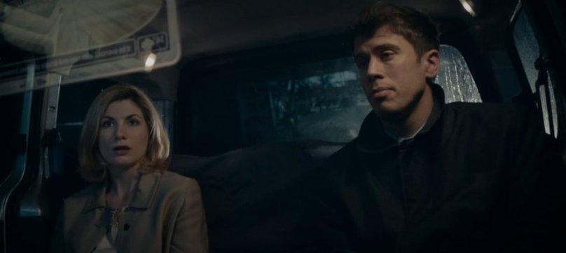 Black Mirror - Jodie Whittaker et Toby Kebbel