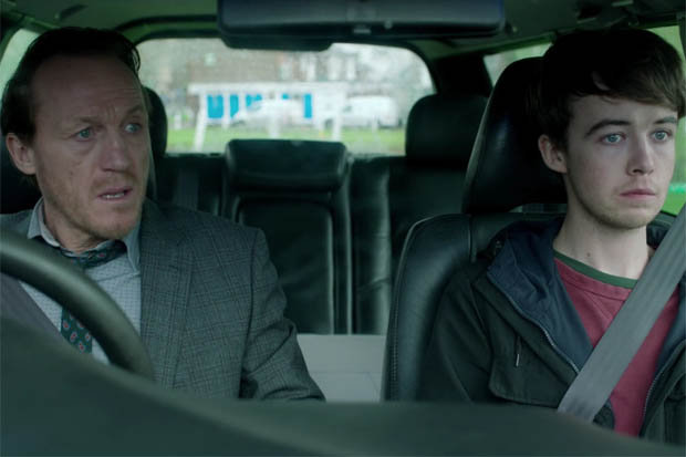 Black Mirror - Jerome Flynn et Alex Lawther